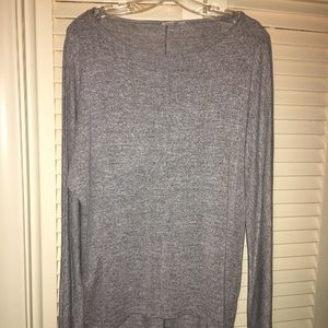 GAP heather gray top